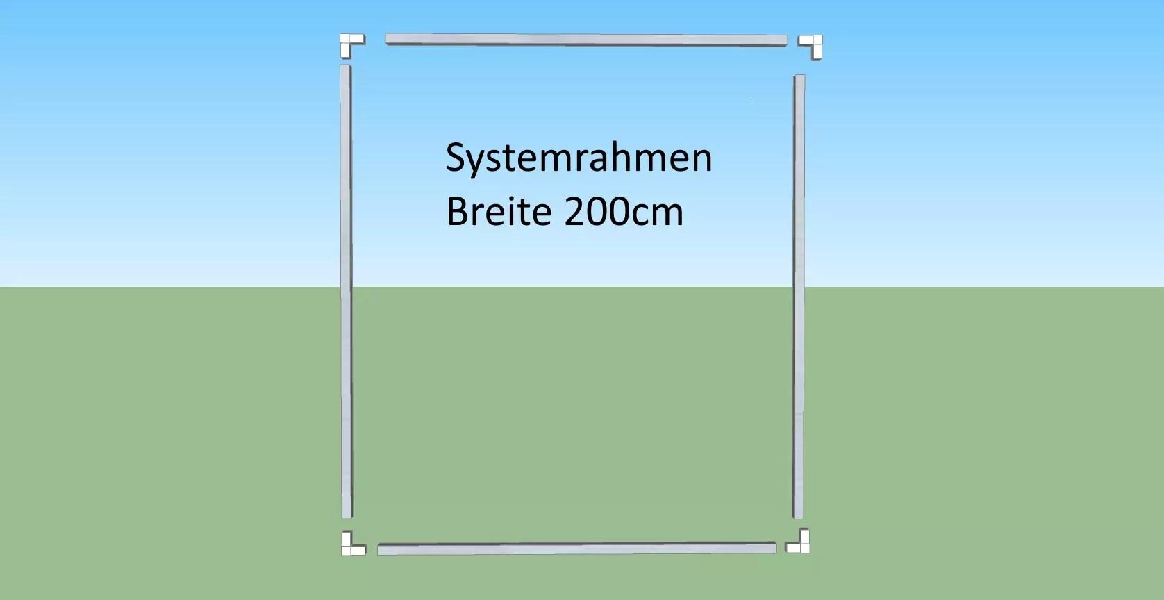 Katzennetz 200cm, Selbstbausatz