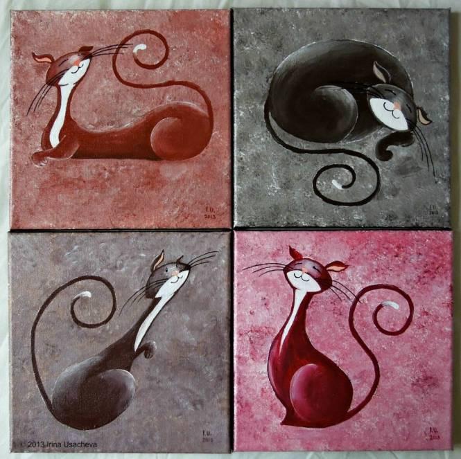 cat art 6