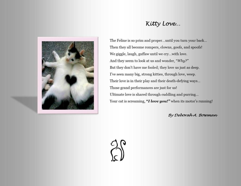 Kitty Love by Deborah A. Bowman