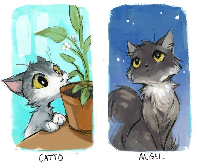 catto and angel-1