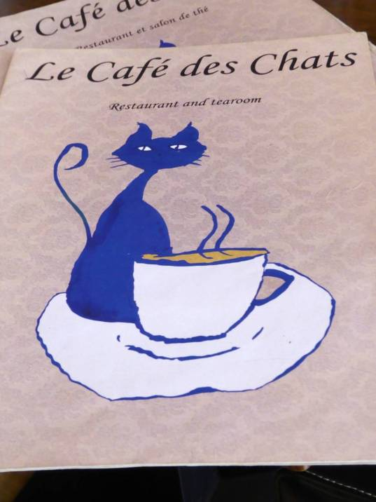 Cafe Des Chats menu