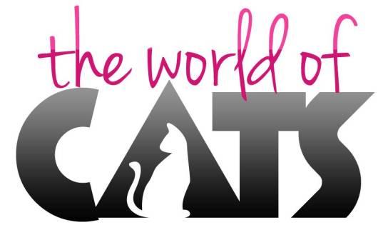 The World of Cats logo Jenna Sue
