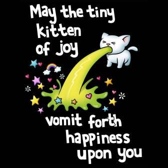 kitten of joy