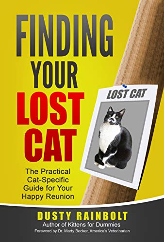 BOOK REVIEW: FINDING YOUR LOST CAT, New From Dusty Rainbolt