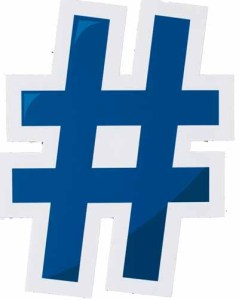 What does a hashtag loo like? Its a cryptic shape that has lots of uses