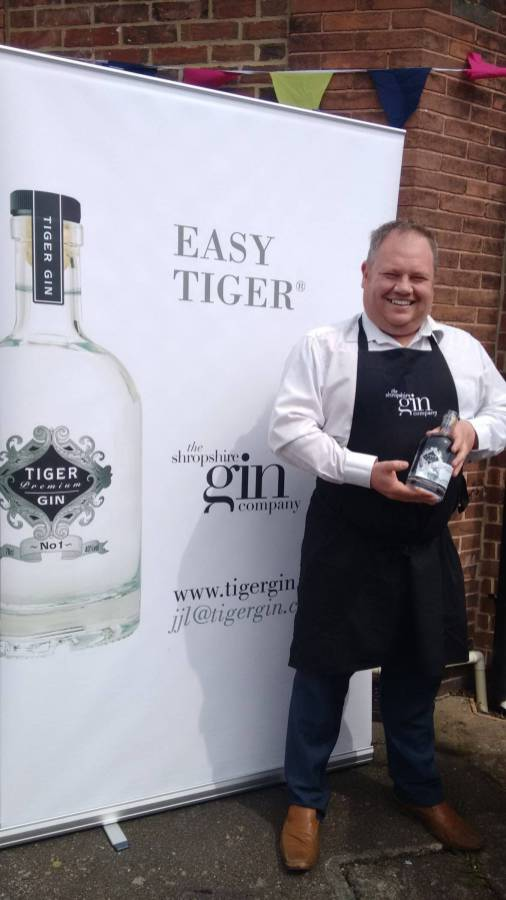 Darren from Tiger Gin