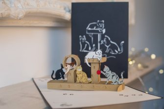 Cats-Playing-Pop-Up-Card-with-Cover