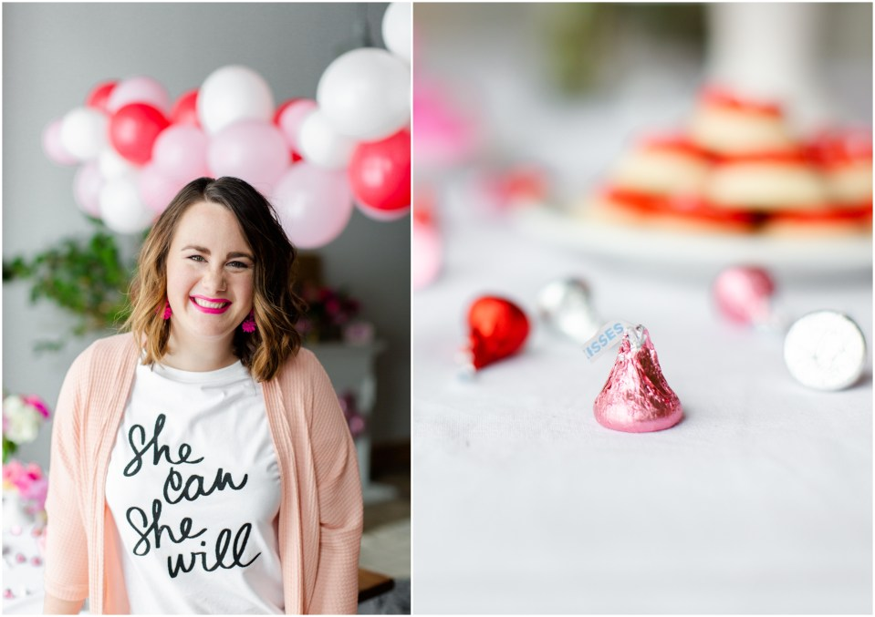 Galentine's Day styled shoot collaboration with Twin Cities bloggers, lifestyle, fashion, blog, Leslie Knope, Parks and Rec, Valentines Day with your BFF, party, decor