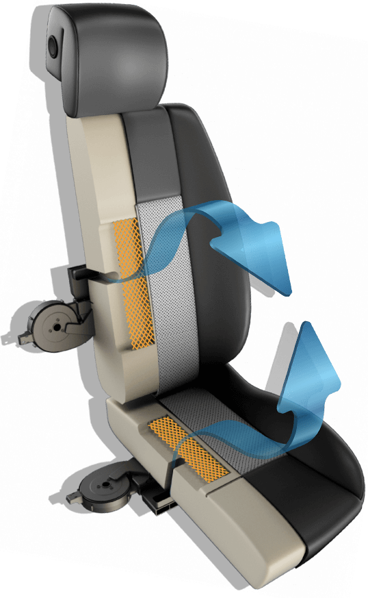 DegreeZ by Katzkin  Heated and Cooled Leather Seats