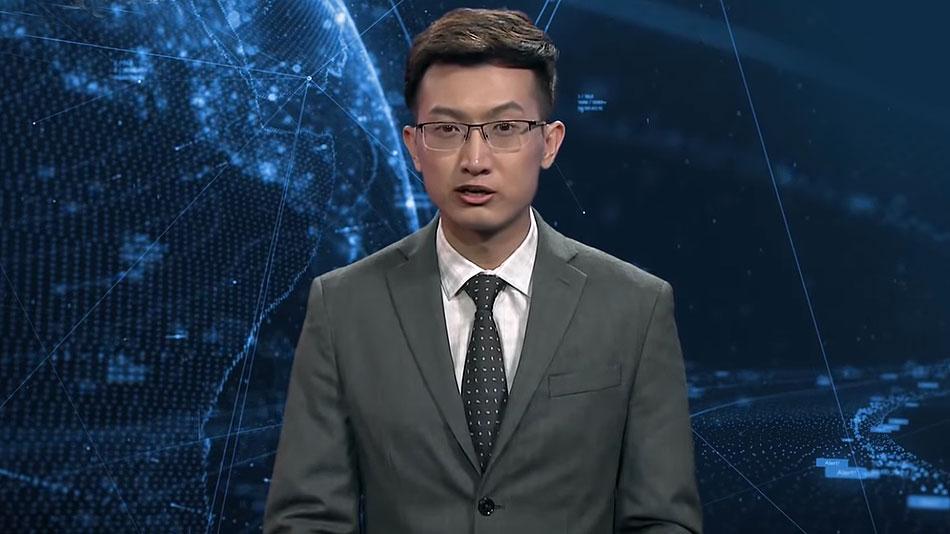 AI Nachrichtensprecher