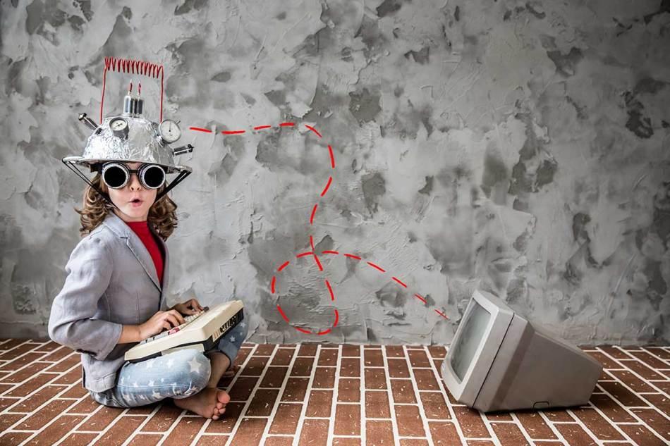 Kinder als Zukunftsforscher AI Talent