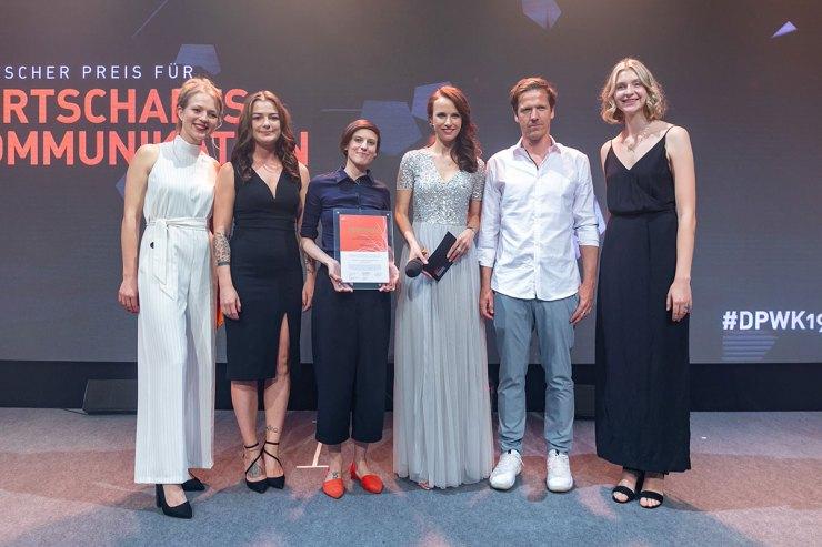 TUNNEL23 und ZARA gewinnen den Deutschen Preis für Wirtschaftskommunikation 2019