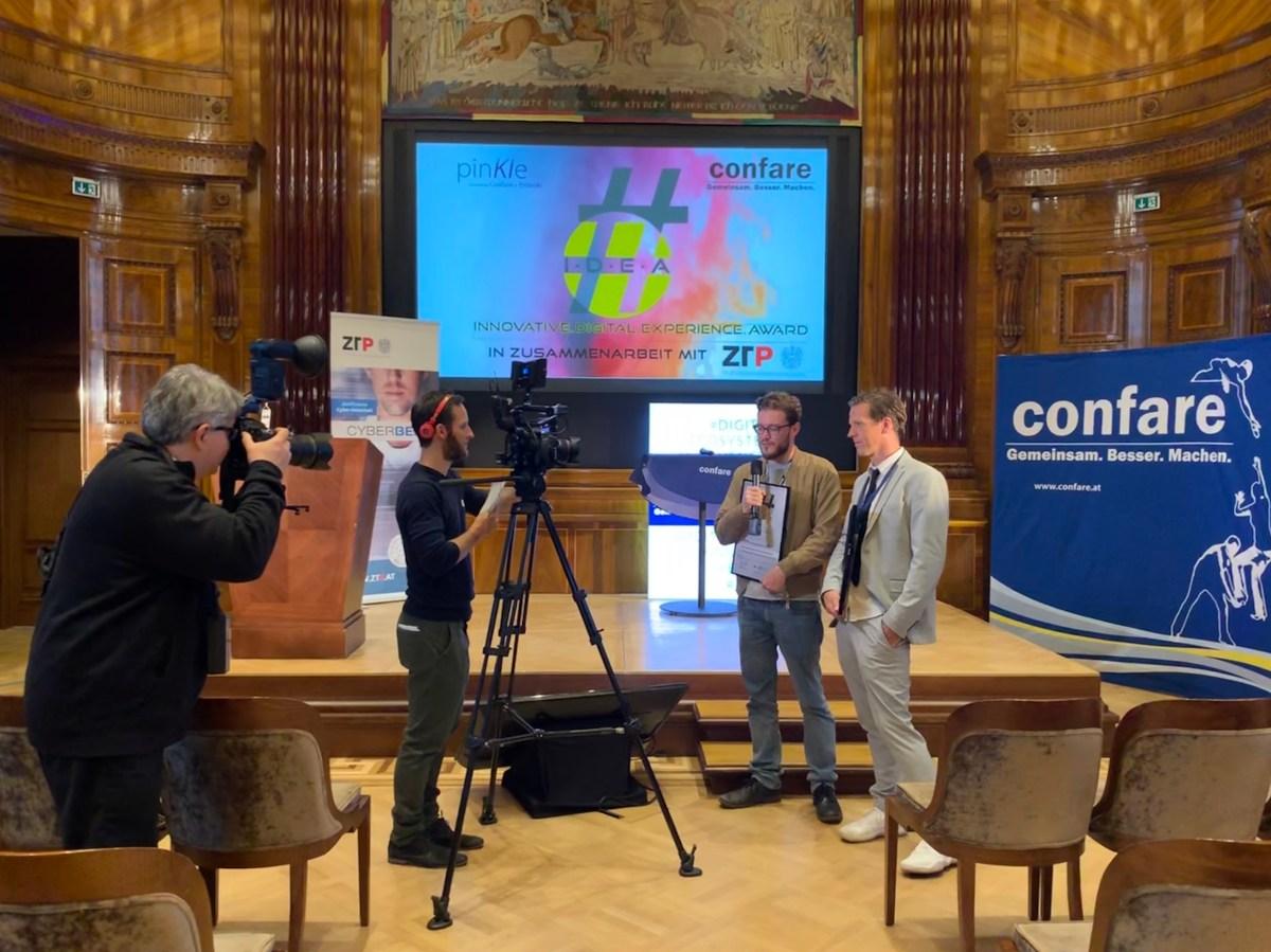 Gewinner des Confare #IDEAward 2019 - TUNNEL23 und ZARA