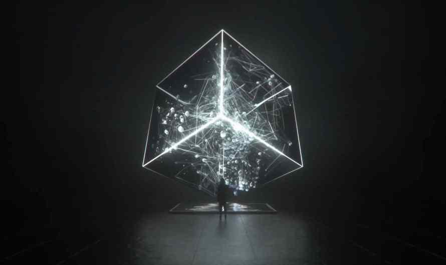 DATA GATE_  – KI-gesteuerte astronomische Forschungsdaten-Skulptur