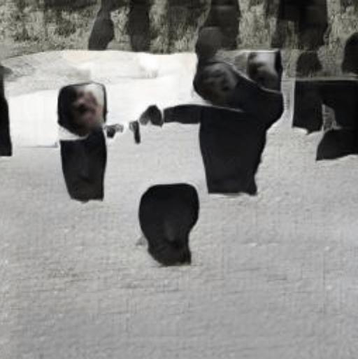 Blackbird Text von den Beatles wird zu synthetisiertem KI-Bild