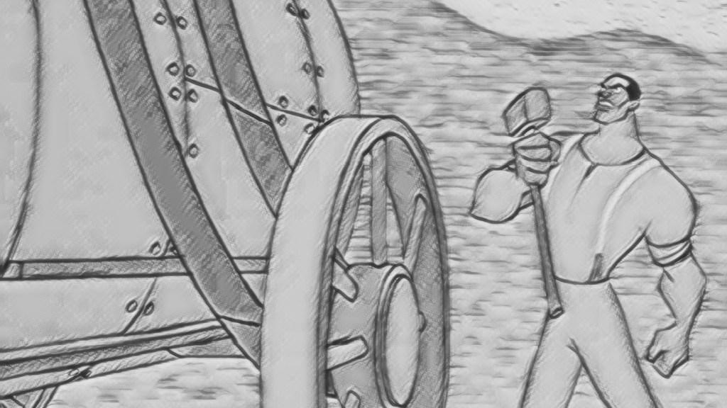 Die Legende von John Henry - Mensch gegen Maschine