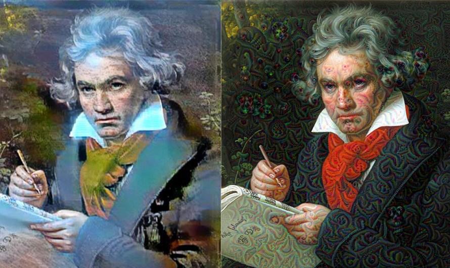 Mondscheinsonate von Beethoven, von einer KI interpretiert