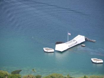 Helicopter Crash Arizona Memorial Tour in Honolulu Hawaii