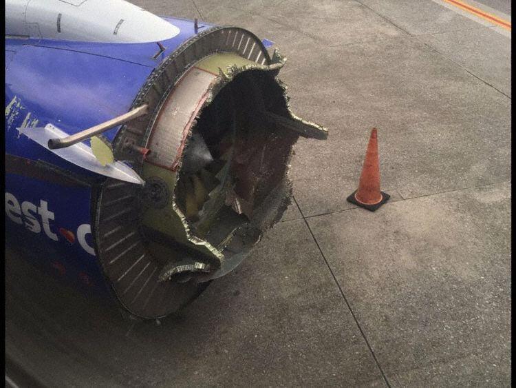 Southwest Flight 1380 – Fan Blade Failures in Turbo Fan Engines