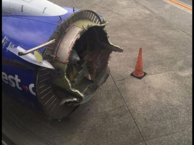 Turbofan Blade Failure