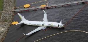 Miami Air 737 Skids Off Runway