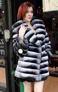 Marc Kaufman Furs presents a chinchilla fur stroller with shawl collar from Marc Kaufman Furs New York ,Fur coats in Argentina, fur coats in Chile, fur coats in Venezuela, fur coats in Australia, fur coats in Belgium,fur coats in Netherlands, fur coats in Norway,fur coats in Sweden,fur coats in Dubais,fur coats in Egypt,fur coats in Egypt,fur coats in Kuwait, fur coats in South Africa,fur coats in Tunisia,fur coats in the Falklands