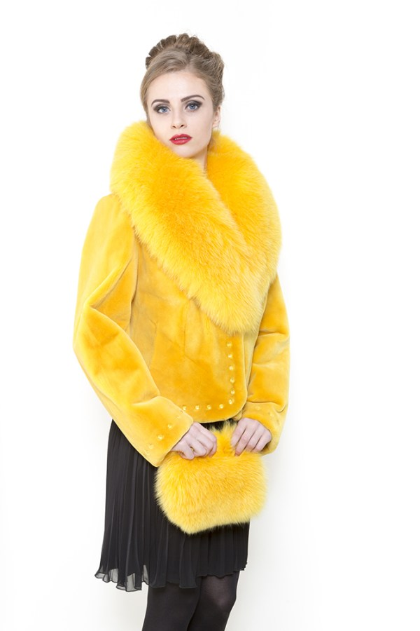 Zuki Furs Sunflower Foxy Folly