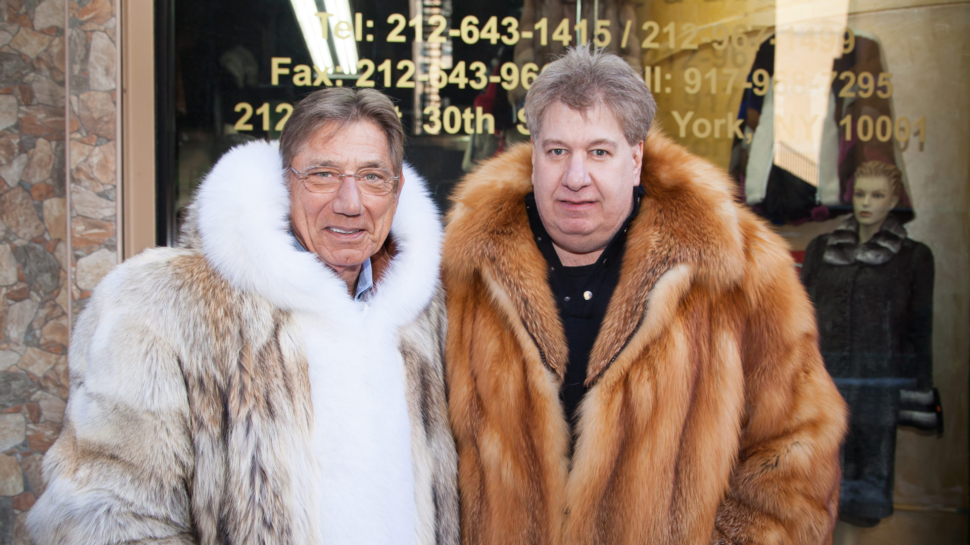 Joe Namath Marc Kaufman Furs