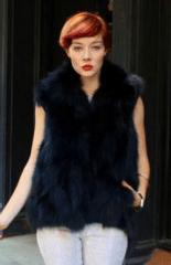 What to Wear with a Fur Vest? 10 Fur Vest Ideas