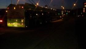 Sutriko troleibusų eismas