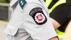 Policijos reidas Karaliaus Mindaugo prospekte