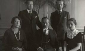"Fotoateljė ""Zinaida"", Smetonų šeima 1950 m."