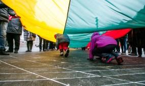 Kaunas švenčia Vasario 16-ąją, eisena ir minėjimas Karo muziejuje