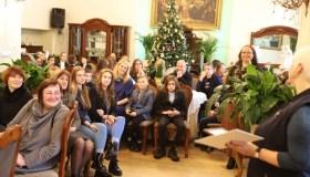 Mokinių pagerbimas Ornažerijoje Raudondvaryje