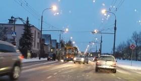 Apledėjusiose Kauno gatvėse ir keliuose stoja eismas