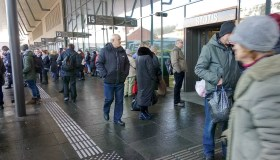 Gaisras Kauno autobusų stotyje