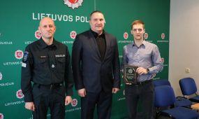 Apdovanoti geriausi Kauno apskrities VPK pareigūnai-sportininkai