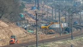 """""""Rail Baltica"""" tiesimo darbai Kaune"""