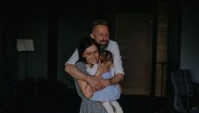Linas Adomaitis su šeima