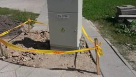 Elektros skydinė Draugystės gatvėje