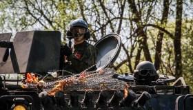 Vaidoto bataliono karių tarnybos akimirkos