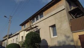 Buvę elektrinės darbuotojų gyvenamieji namai