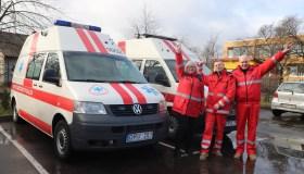 Nauji Kauno rajono greitosios medicinos pagalbos automobiliai