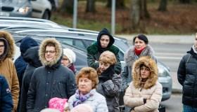 Ramučių gyventojai protestuoja dėl šiukšlių vežimo
