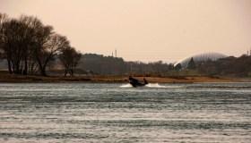 Nuo Aleksoto tilto nukritusio žmogaus gelbėjimo operacija