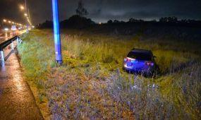 Islandijos plente automobilis nuvažiavo nuo kelio