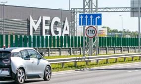 Padidintas leistinas greitis prie Megos