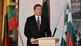 LŠS suvažiavimas KA ministras R.Karoblis