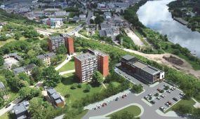 """""""Trijų mergelių"""" vietoje planuojamas naujas pastatas"""