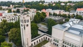 Pradedama Vytauto Didžiojo karo muziejaus bokšto ir arkados rekonstrukcija